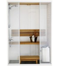 Harvia Capella dobbelt sauna kabine
