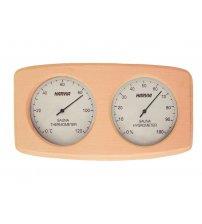 Gebogen doos type Harvia thermo-hygrometer