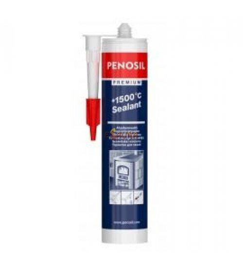 """Juodas karščiui atsparus hermetikas """"PENOSIL"""" (310 ml)"""