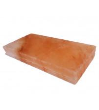 Leštené himalájske soľné tehly so zárezom 200x100x25mm