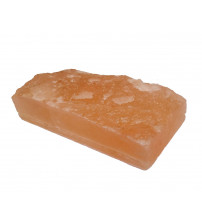 Фрезерованные битые кирпичи из гималайской соли 200х100х50мм
