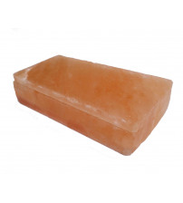 Polerede himalayanske saltsten med hak 200x100x50mm