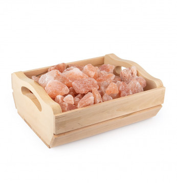 Himalayan salt in a box..