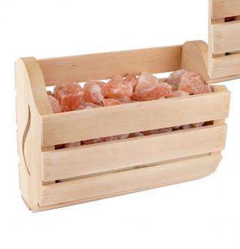 Himalajska sol v škatli..