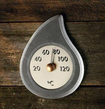 Thermometer aus Seifens..