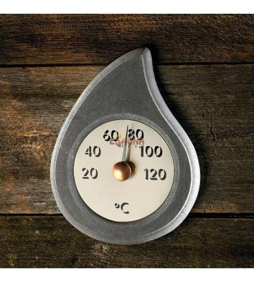 """Thermometer aus Seifenstein """"Der Tropfen"""""""