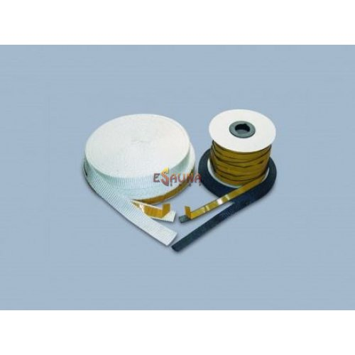 White insulating duct tape SILCAVER 55