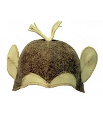 Καπέλο σάουνας - πίθηκος