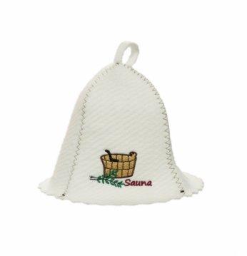 Saunový klobúk..
