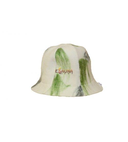 Kepurė, marga, žalia