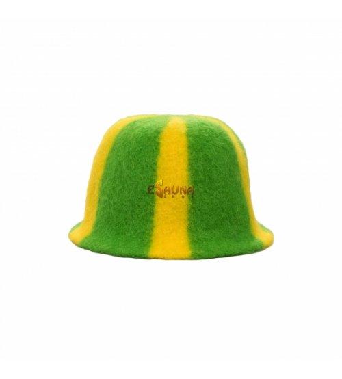 Трехцветная шапка
