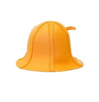 Kepurė pirčiai -  oranž..
