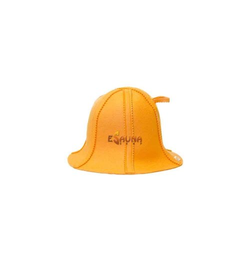 Kepurė pirčiai -  oranžinė