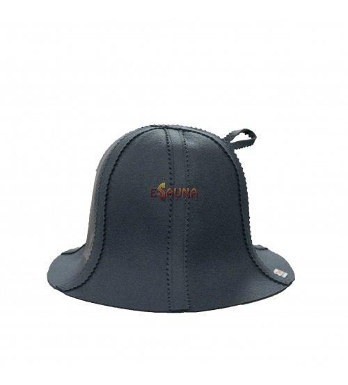 Фетровая шапка, серая