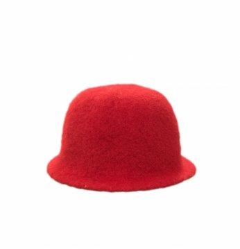 Saunamütze,  rot..