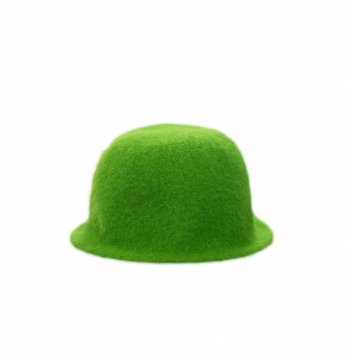 Saunamütze, grün..