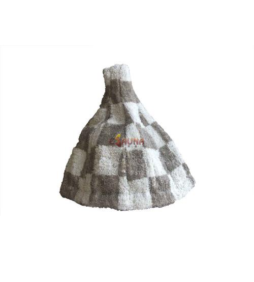 Банная шапочка с янтарем