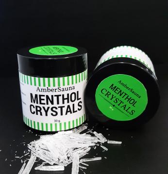 Menthol kristallen saun..