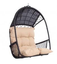 Κρεμαστή καρέκλα - TANJA, σκούρο καφέ