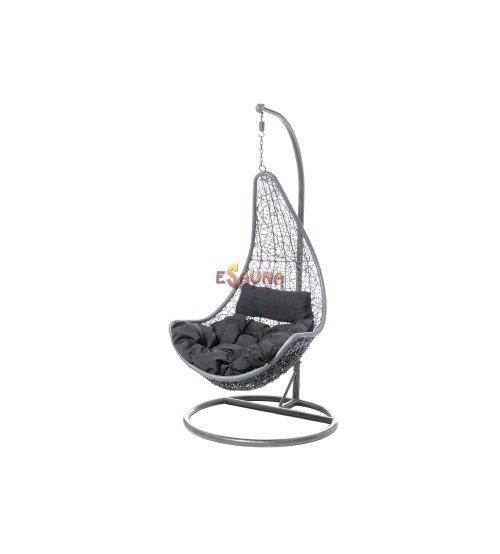 Hanging chair - HAWAII grey