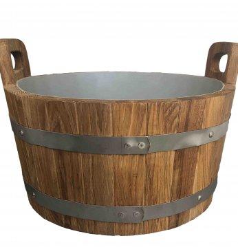 Oak bucket, 17l..