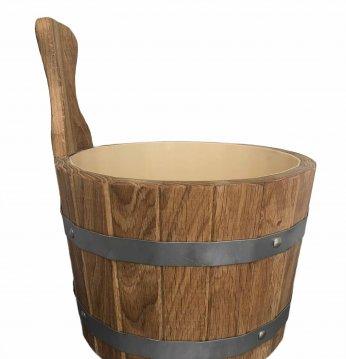 Oak bucket, 5l..