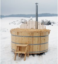 Spruce hot tub, 180cm