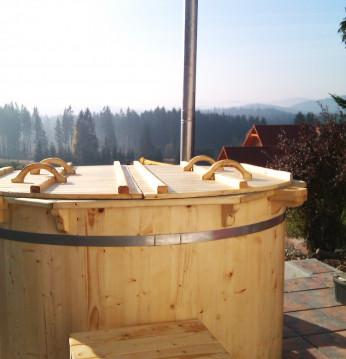 Spruce hot tub, 200 cm..