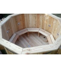 Larch hot tub, 220 cm