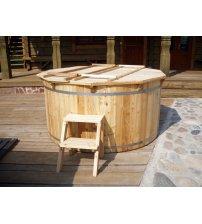 Купель из лиственницы, 160 см