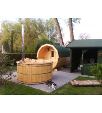 Larch hot tub, 200 cm