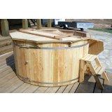Vasche da bagno in legno