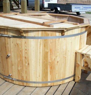 Larch hot tub, 180cm..
