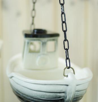 Ceramiczny trawler zapa..