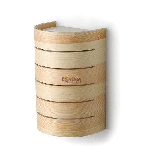 Lámpara de sauna Raita, RM, E27 / 40W, pino
