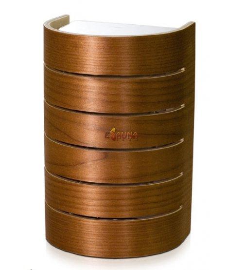 Raita sauna lamp, RLK, E27/40W, Thermo birch
