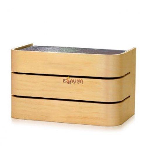 Raita sauna lamp, RTL2, E27/60W, alder