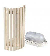 Sawo lamp and lattice set 914-VA, aspen