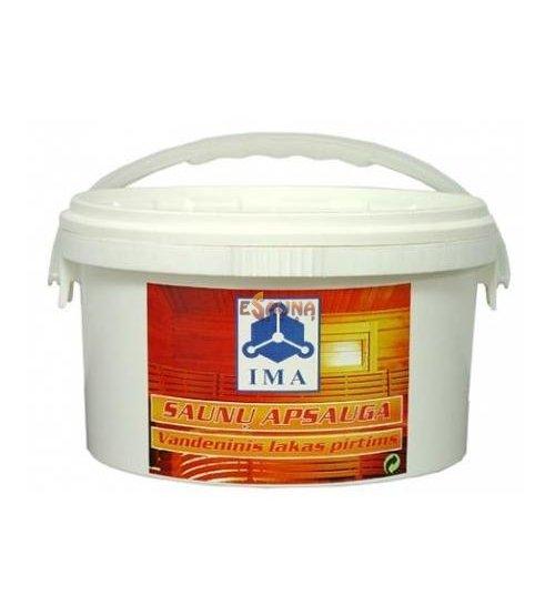 Лак для сауны IMA, 3 l
