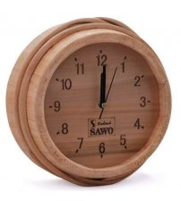 Дървен часовник Sawo