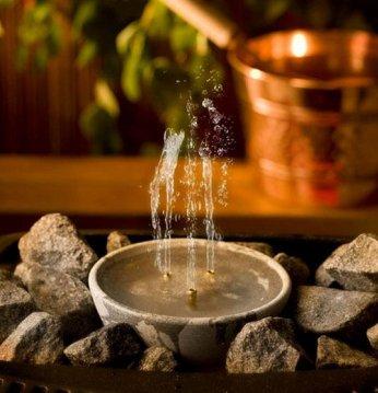 Akmeninis kvapų fontanė..