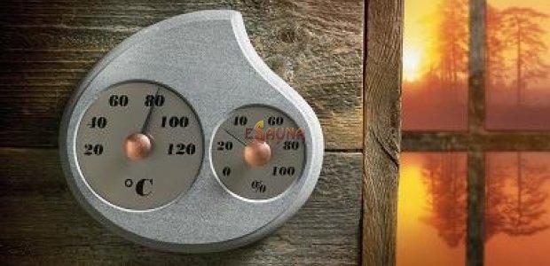 Hygrometer-Thermometer, ein wesentliches Element der Sauna