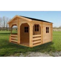 Casa de sauna pequeña
