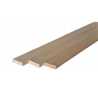 Bankje hout 27 x 94 mm, abachi
