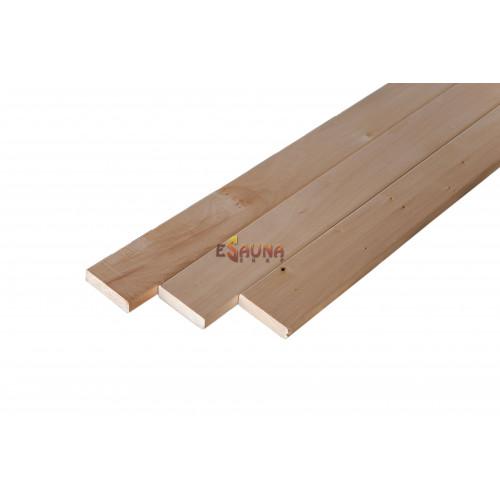 Bench wood, 24 x 90 mm, AB class, Linden