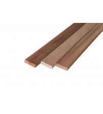 A bunk board, 27 x 90 mm, cedar