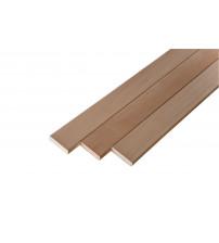 Banc en bois, 24 x 90 mm, classe A, tilleul