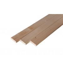 Banc en bois, 24 x 90 mm, classe AB, tilleul