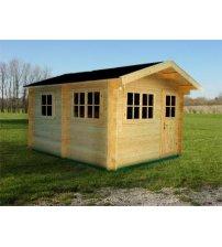 Casa de sauna mediana