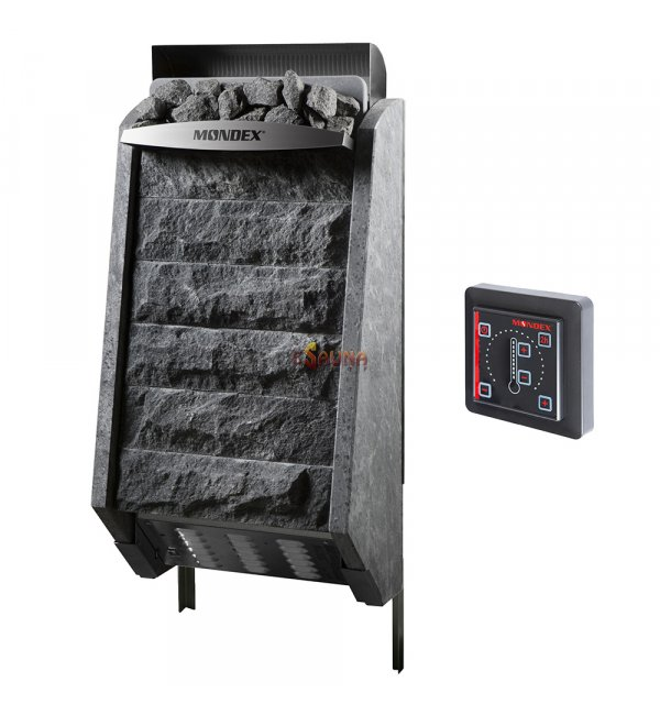 elektrische saunaofen mondex sense nature. Black Bedroom Furniture Sets. Home Design Ideas
